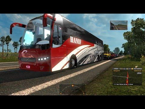 ETS2 Long Trip: Dhaka to Panchagarh (Hanif Volvo B9R Business Class)