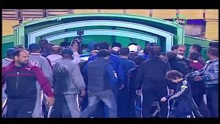 بالفيديو والصور.. إصابة مفزعة لحارس إنبي بعد اشتباك مع لاعب المقاولون