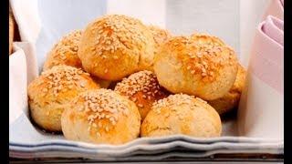 Bolitas de pan rellenas de queso crema  - Cheese Balls