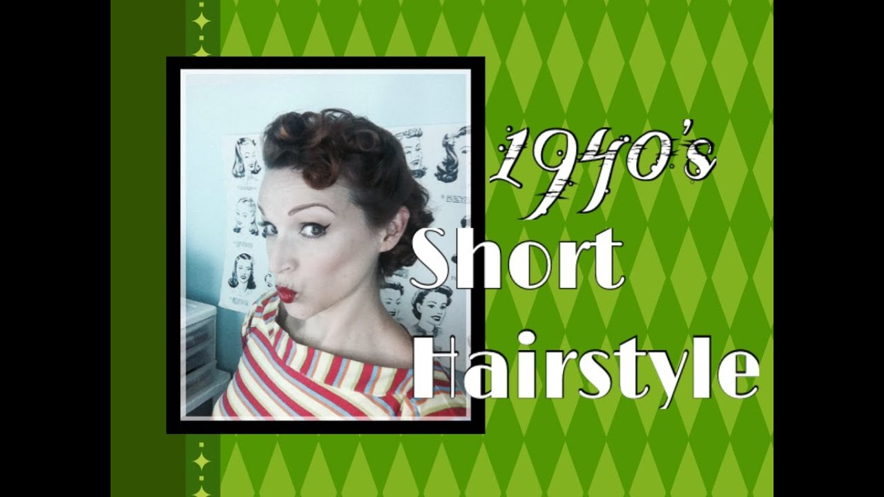 1940's short hairstyle: especially for the nashville boogie!