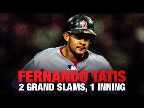 Tatis hits two grand slams in one inning vs. Dodgers