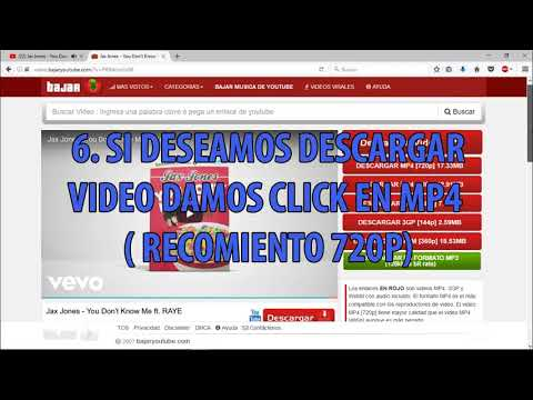 ¿como bajar mp3 y mp4 de youtube sin programas?