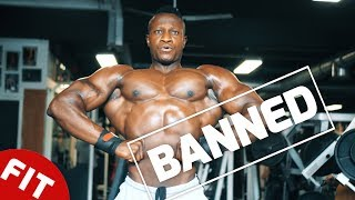 BANNED: WHY THIS OLYMPIAN PHYSIQUE WON'T BE ON STAGE IN VEGAS