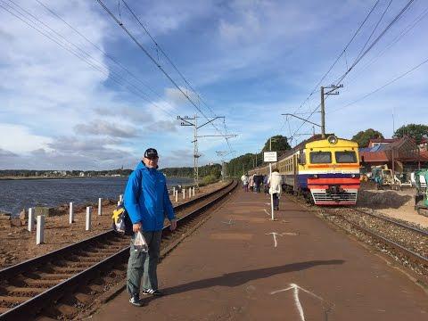 Latvia Beach and Train 1-day Adventure, Jurmala to Riga