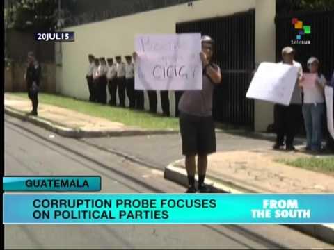 Guatemala: Anti-Impunity Commission Investigating Candidates