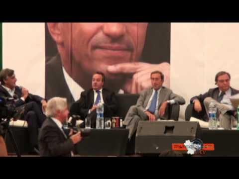 Gianfranco Fini a Pisticci. Il dibattito con la stampa-prima parte