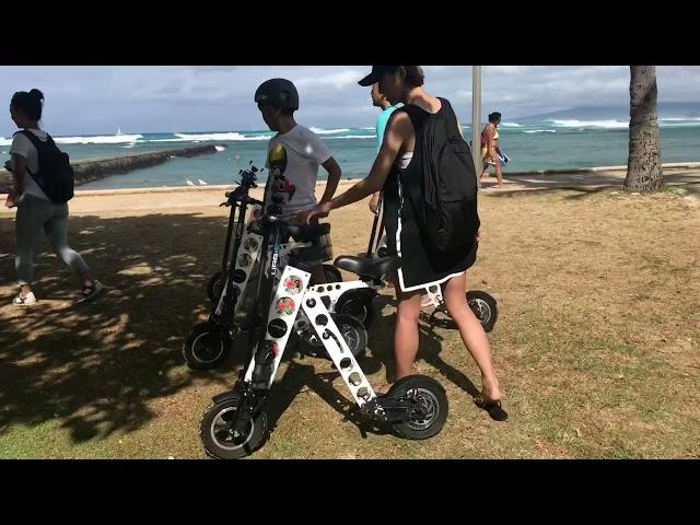 URB-E Hawaii Family Diamond Head Ride