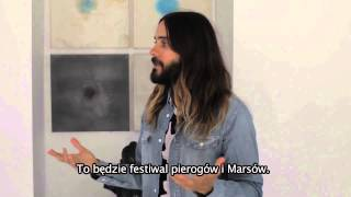 Jared Leto zaprasza na koncert 30 Seconds to Mars w Rybniku