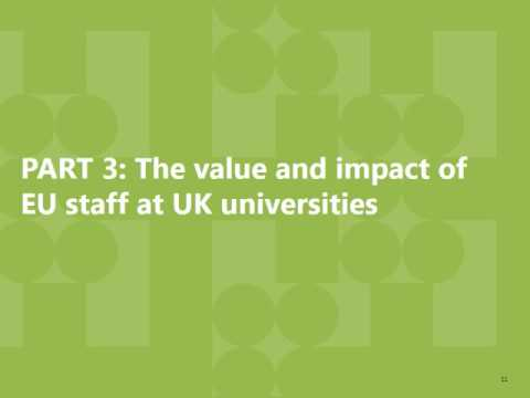 Brexit facts and figures -Trade in Higher Education services and research