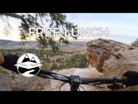 Enjoying some Free Lunch - Mountain Biking Grand Junction, Colorado