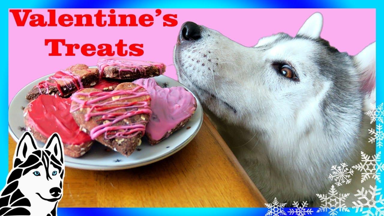 VALENTINEu0027S DOG TREATS DIY | Marble Hearts 💘 | Snow Dogs Snacks 65 | DIY  Dog Treats   YouTube