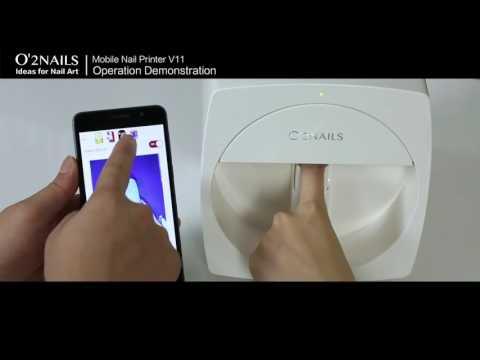Машинка для рисования на ногтях