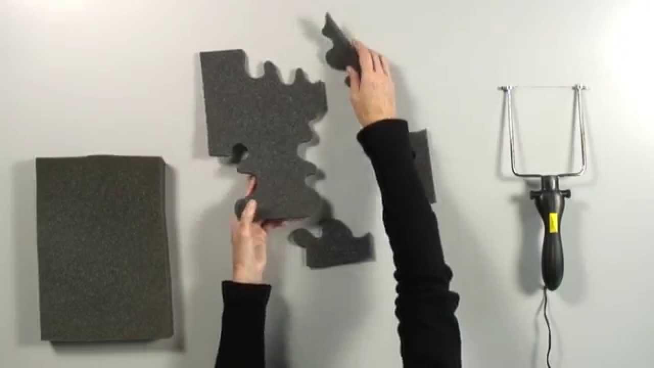 4d538d36b71 Cómo cortar ESPUMA DE MALETÍN con hilo caliente - YouTube