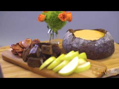 Cheddar And Beer Fondue Step-By-Step Recipe