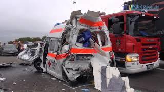 Ludwigshafen LKW Unfall A61 Frankenthaler Kreuz