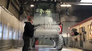 Agrifac Condor agricultural self propelled sprayer Non Contact ProNano Agri Cleaning