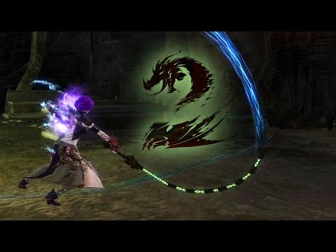 [Guild Wars 2] Chain-Whip Sword Slow Motion