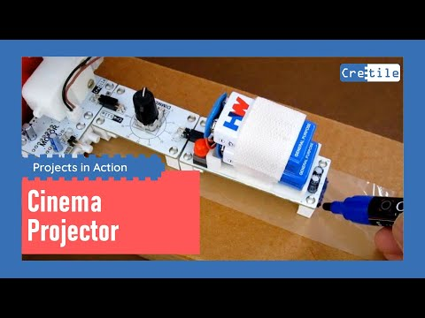 Working Movie/Cinema Projector with Cretile