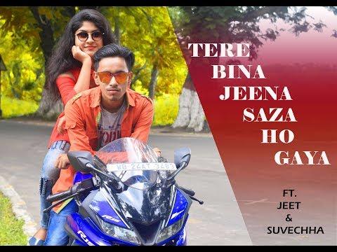 Tere Bina Jeena Saza Ho Gaya   Punjabi Love Video Song 2019   Cute Love Story   Ft.Jeet & Suvechha