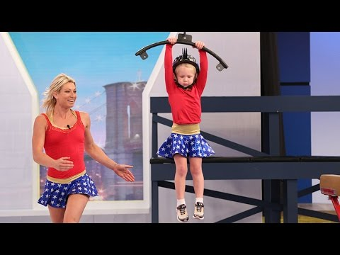 5-Year-Old Crushes American Ninja Warrior Obstacle Course