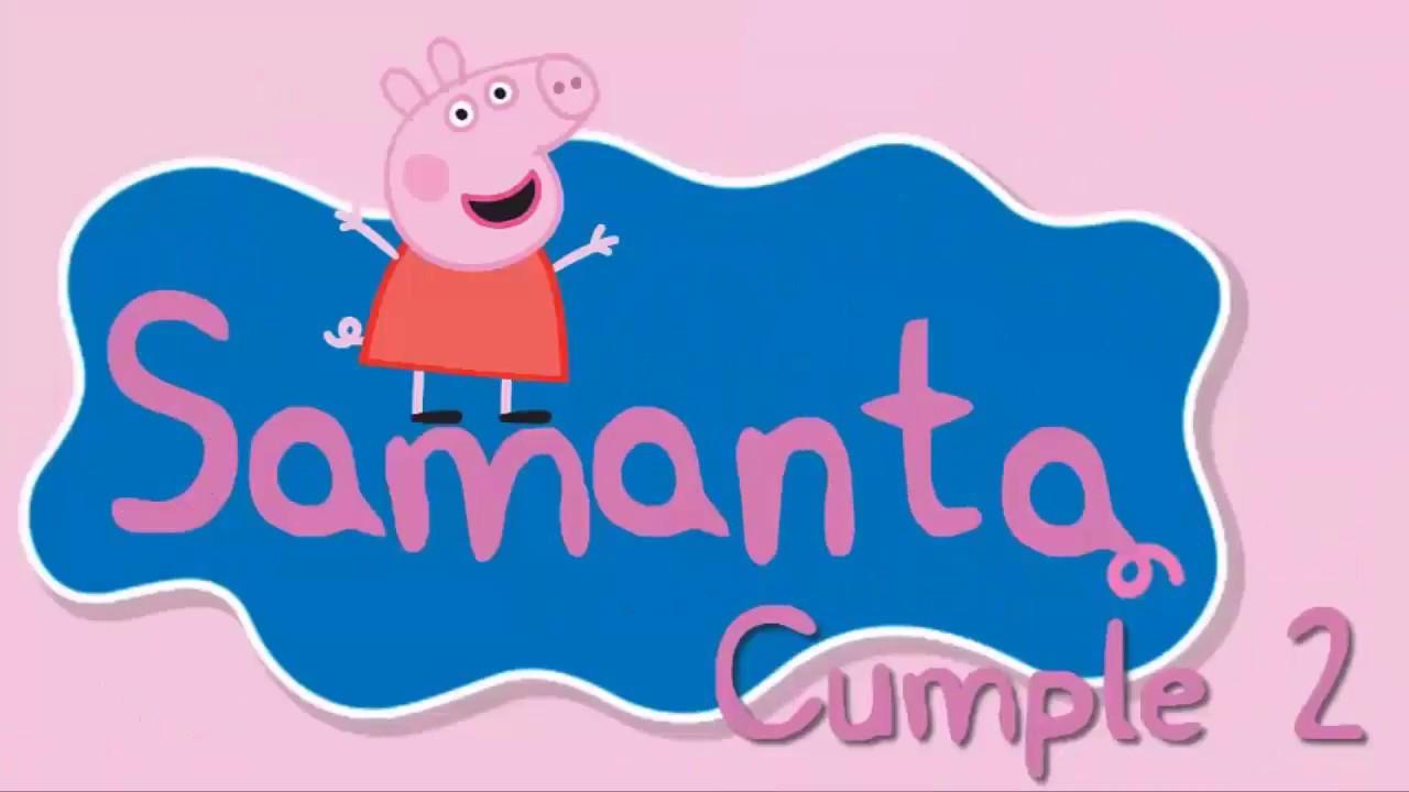 Video De Invitación O Cumpleaños De Peppa Pig Para Whatsapp Aquisevendeccs