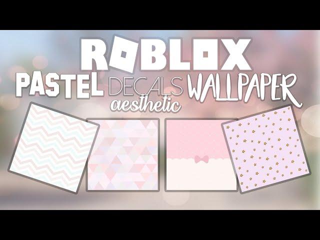 50 Bloxburg Pastel Aesthetic Decal Id Codes Wallpaper Youtube