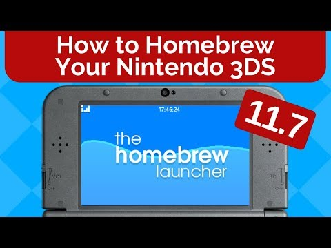How to Homebrew Your Nintendo 3DS 11.7
