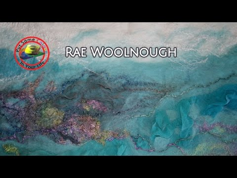 Free Textile Art Lessons with Rae Woolnough