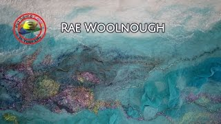 Art tips with Free Textile Art Lessons with Rae Woolnough on Colour In Your Life