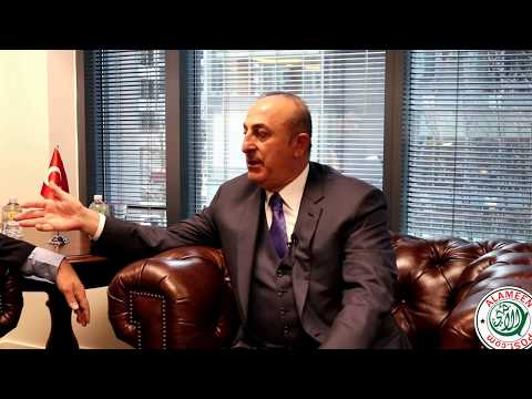 AlameenPost One on One with H.E. Mevlüt ÇAVUSOGLU
