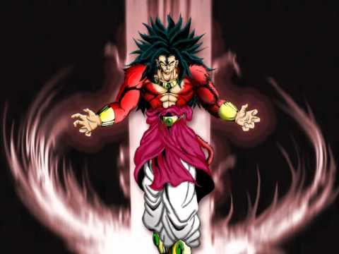 Dragon ball GT - Goku vs Broly - (Creada por mi) - YouTube