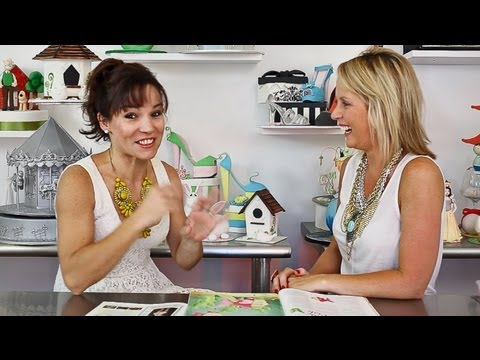 Novelty cake artist Verusca Walker is interviewed by Louise from Learn Cake Decorating Online