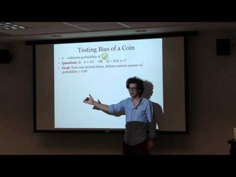 Constantinos Daskalakis: Testing Properties of Distributions
