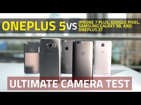OnePlus 5 vs iPhone 7 Plus, Samsung S8, OnePlus 3T, Google Pixel | Ultimate Camera Comparison