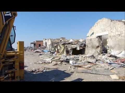 Distrutto Il Ghetto Bulgari a Fg 21.7.2017