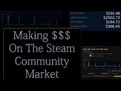 How To Make Money On The Steam Community Market - 2019 (Using CS:GO Skins)