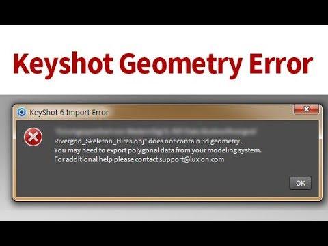 When the modeling file doesn't open in Keyshot - YouTube
