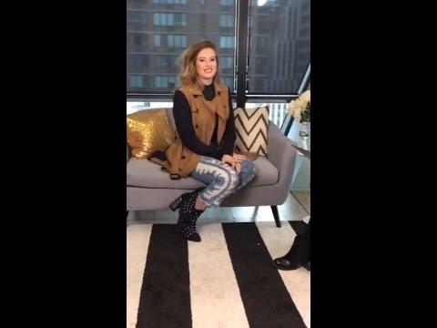 Cari Fletcher - Harper's Bazaar live