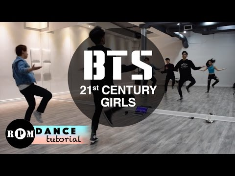 "BTS ""21st Century Girl"" Dance Tutorial (Pre-Chorus, First Chorus)"