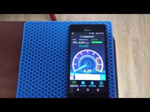 UmTRX v2.3.1 UMTS speed test
