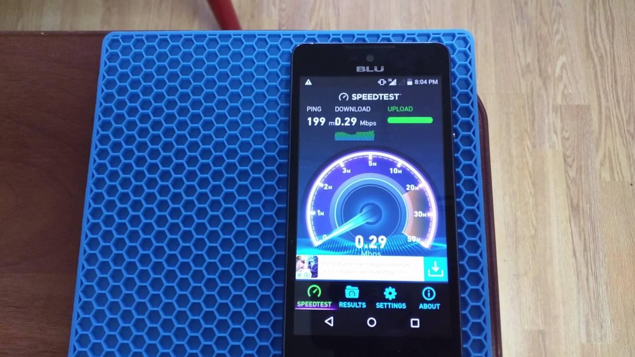 UmTRX v2 3 1 UMTS speed test