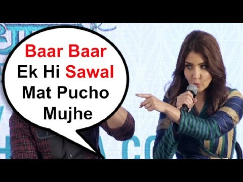 Anushka Sharma Gets Angry On Media For Asking The Same Question Mp3