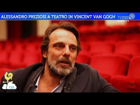 Alessandro Preziosi a teatro in Vincent Van Gogh