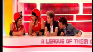4 Harry, Louis and Niall from One Direction on A League Of Their Own Part 4