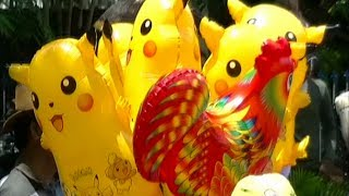 Balonku Ada Lima Versi China Percil - Balon Karakter Pokemon...