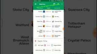 Best Football Live Scores Apps for Android screenshot 5