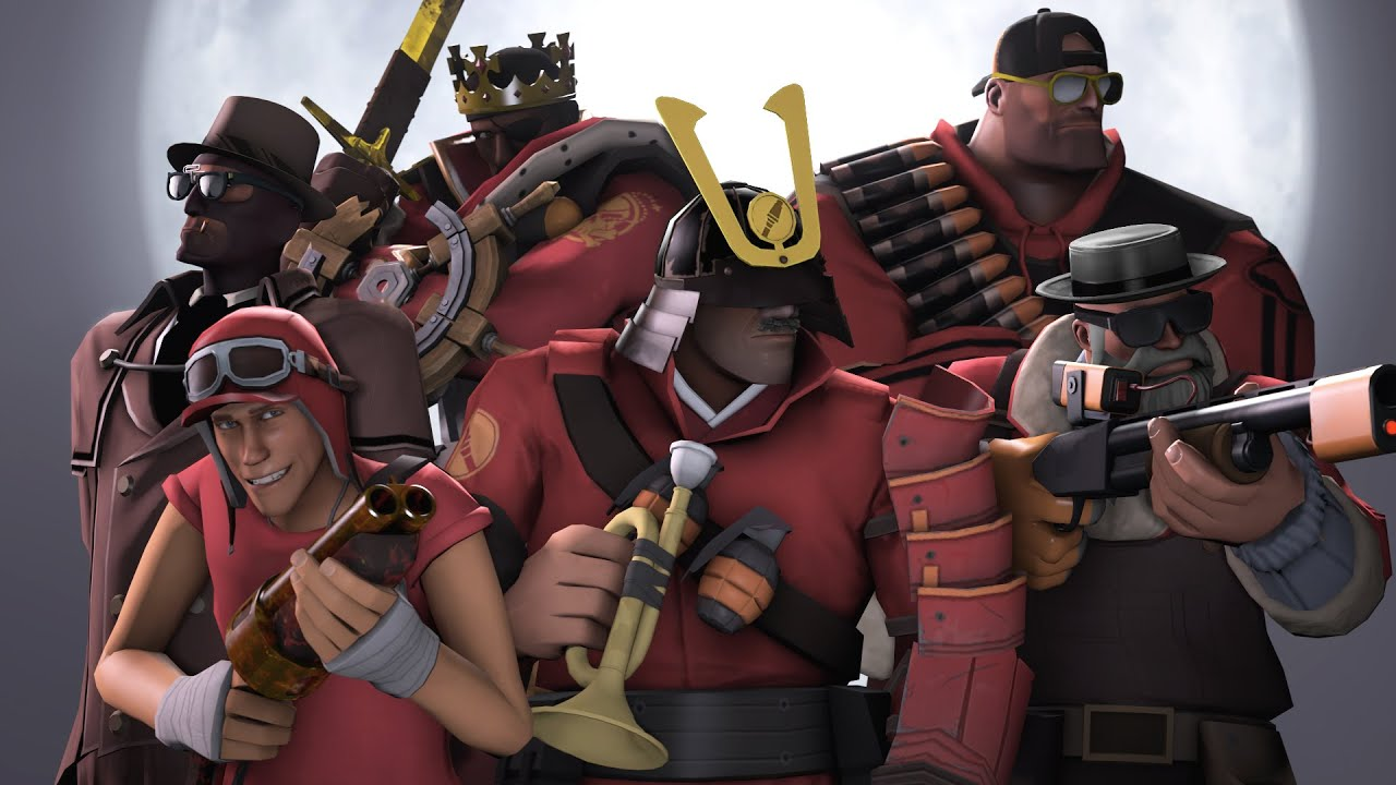 Team Fortress 2 Wave 666 Ft Youtubers