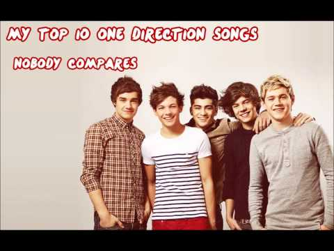 Top 10 One Direction Songs