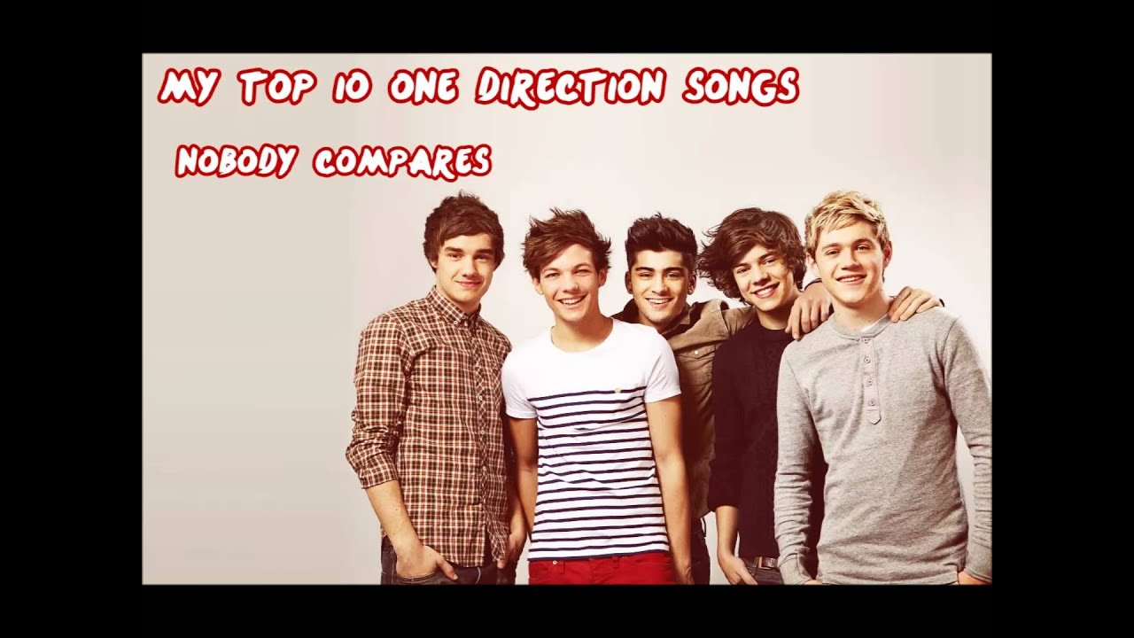 Top 10 one direction songs youtube altavistaventures Images