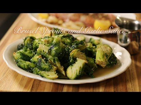 Brussel Sprouts In Garlic Sauce